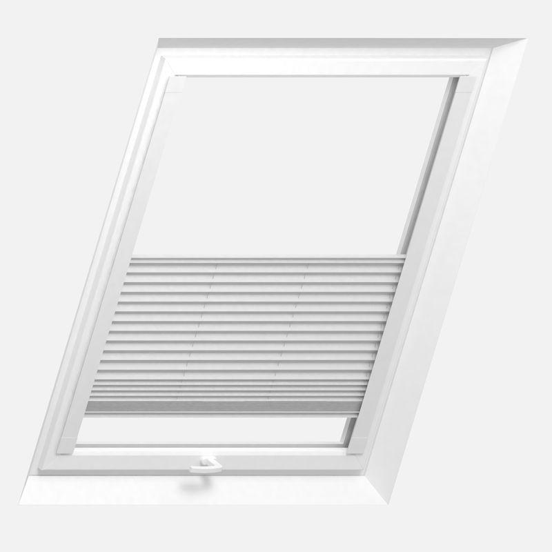 Dachfenster-Plissee mit Premium-Ausstattung