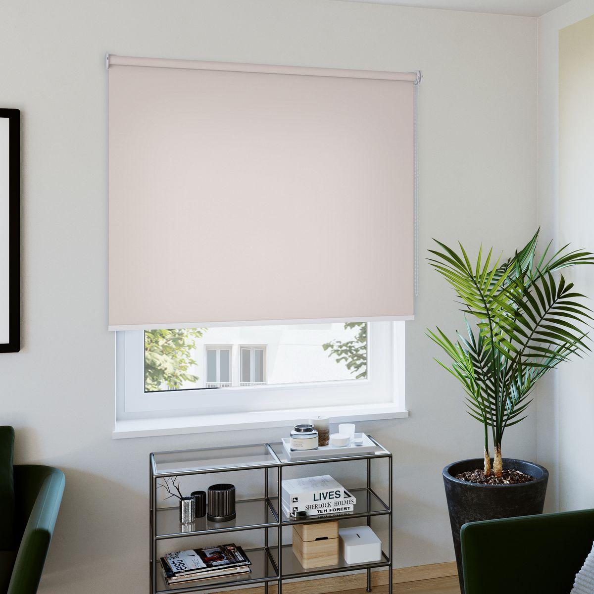 Rollo nach Maß rosa Wohnzimmer