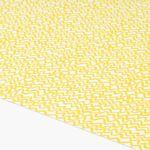 Rollo nach Maß gelb Detailaufnahme